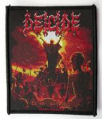 Deicide - 'To Hell With God' Woven Patch